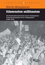 Libro Itinerarios Militantes
