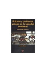 Papel POLITICAS Y PROBLEMAS SOCIALES EN LA SOCIEDAD NEOLIBERAL
