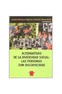 Papel ALTERNATIVAS DE LA DIVERSIDAD SOCIAL LAS PERSONAS CON D  ISCAPACIDAD