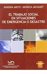 Papel EL TRABAJO SOCIAL EN SITUACIONES DE EMERGENCIA O DESASTRE