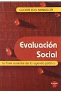 Papel EVALUACION SOCIAL LA FASE AUSENTE DE LA AGENDA PUBLICA