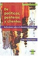 Papel DE POLITICOS PUNTEROS Y CLIENTES