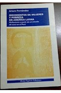 Papel MOVIMIENTOS DE MUJERES Y POBREZA EN AMERICA LATINA REFLEXIONES A PARTIR DE UN ESTUDIO DE CASO E...