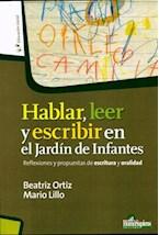 Papel HABLAR, LEER Y ESCRIBIR EN EL JARDIN DE INFANTES