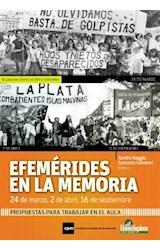 Papel EFEMERIDES EN LA MEMORIA