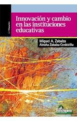 Papel INNOVACION Y CAMBIO EN LAS INSTITUCIONES EDUCATIVAS