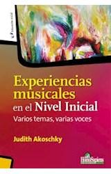 Papel EXPERIENCIAS MUSICALES EN EL NIVEL INICIAL