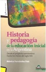 Papel HISTORIA Y PEDAGOGIA DE LA EDUCACION INICIAL EN LA ARGENTINA