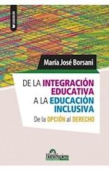 Papel DE LA INTEGRACION EDUCATIVA A LA EDUCACION INCLUSIVA