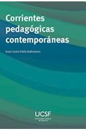 Papel CORRIENTES PEDAGOGICAS CONTEMPORANEAS