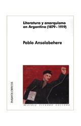 Papel LITERATURA Y ANARQUISMO EN ARGENTINA 1879-1919
