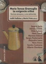 Libro Maria Teresa Gramuglio