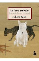 E-book La letra salvaje