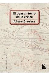 E-book El pensamiento de la crítica