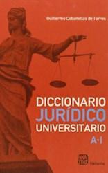 Papel Diccionario Juridico Universitario T 1