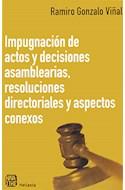 Papel IMPUGNACION DE ACTOS Y DECISIONES ASAMBLEARIAS RESOLUCI