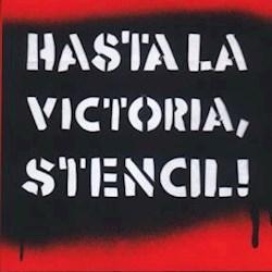 Libro Hasta La Victoria Stencil !