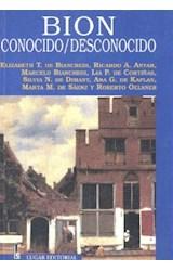 Papel BION CONOCIDO-DESCONOCIDO