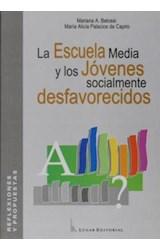 Papel LA ESCUELA MEDIA Y LOS JOVENES SOCIALMENTE DESFAVORECIDOS,