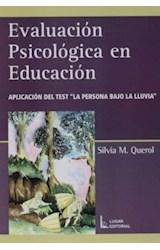 Test EVALUACION PSICOLOGICA EN EDUCACION (PERSONA BAJO LA LLUVIA)