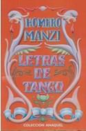 Papel LETRAS DE TANGO (HOMERO MANZI)