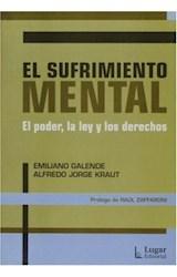 Papel SUFRIMIENTO MENTAL, EL (PODER, LA LEY Y LOS DERECHOS)