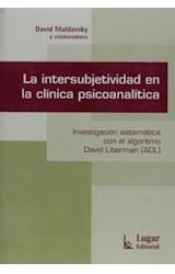 Papel LA INTERSUBJETIVIDAD EN LA CLINICA PSICOANALITICA
