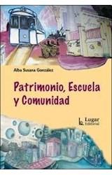 Papel PATRIMONIO, ESCUELA Y COMUNIDAD
