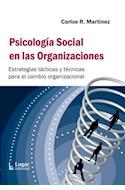 Papel PSICOLOGIA SOCIAL EN LAS ORGANIZACIONES