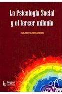 Papel PSICOLOGIA SOCIAL Y EL TERCER MILENIO
