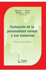 Test EVALUACION DE LA PERSONALIDAD NORMAL Y SUS TRASTORNOS