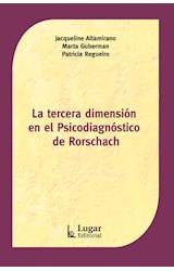 Test TERCERA DIMENSION EN EL PSICODIAGNOSTICO DE RORSCHACH