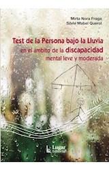 Papel TEST DE LA PERSONA BAJO LA LLUVIA EN EL AMBITO DE LA DISCAPA