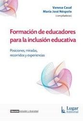Libro Formacion De Educadores Para La Inclusion Educativa