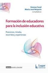 Papel FORMACION DE EDUCADORES PARA LA INCLUSION EDUCATIVA