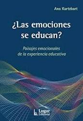 Libro Las Emociones Se Educan?