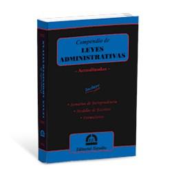 Libro Compendio De Leyes Administrativas