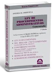 Libro Ley De Procedimientos Administrativos