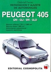 Papel Reparacion Y Ajuste Auto Peugeot 405