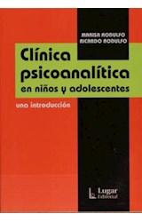 Papel CLINICA PSICOANALITICA EN NIÑOS Y ADOLESCENTES UNA INTRODUCC