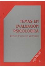 Test TEMAS EN EVALUACION PSICOLOGICA