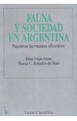 Papel FAUNA Y SOCIEDAD EN ARGENTINA