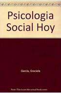 Papel PSICOLOGIA SOCIAL HOY REPORTAJES Y NOTAS