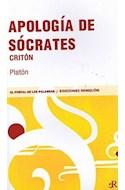 Papel APOLOGIA DE SOCRATES / CRITON (PORTAL DE LAS PALABRAS)