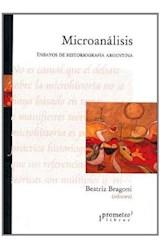 Papel MICROANALISIS ENSAYOS DE HISTORIOGRAFIA ARGENTINA