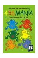 Papel 456 MANIA LOS NUMEROS DEL 1 AL 30