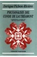 Papel PSICOANALISIS DEL CONDE DE LAUTREAMONT