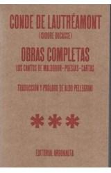 Papel OBRAS COMPLETAS (CONDE DE LAUTREAMONT)