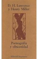Papel PORNOGRAFIA Y OBSENIDAD
