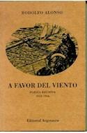 Papel A FAVOR DEL VIENTO POESIA REUNIDA 1952-1956